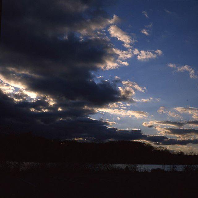 Big winter skies  #120mm