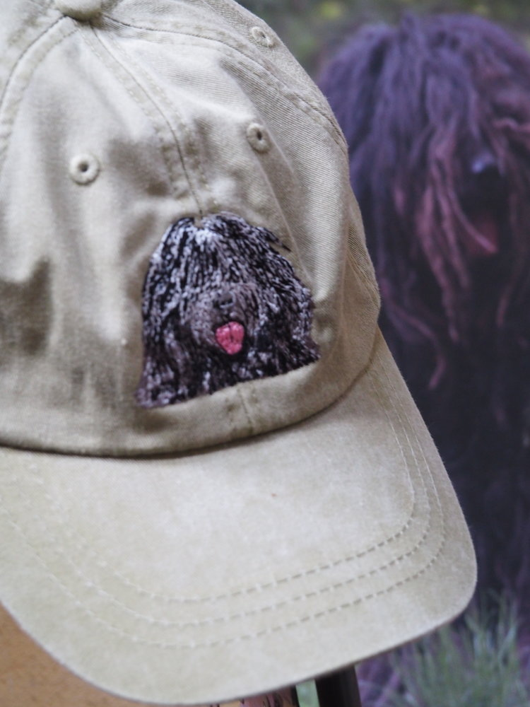 1c73dfc4cef70 Embroidered Bergamasco Baseball Caps — Bergamasco Sheepdog Club of ...