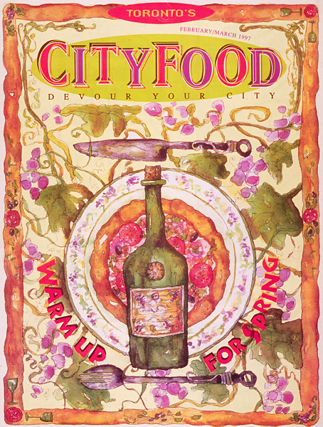 Toronto City Food Cover Art