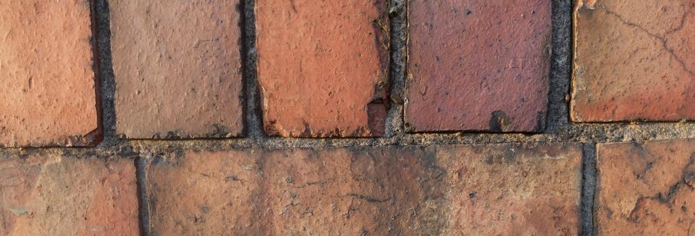 Red brick wall in Lewes by Katie Vandyck