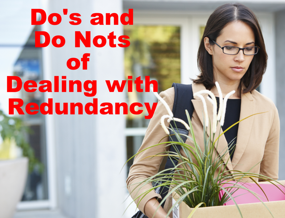Do's and Do Nots for Dealing With Redundancy
