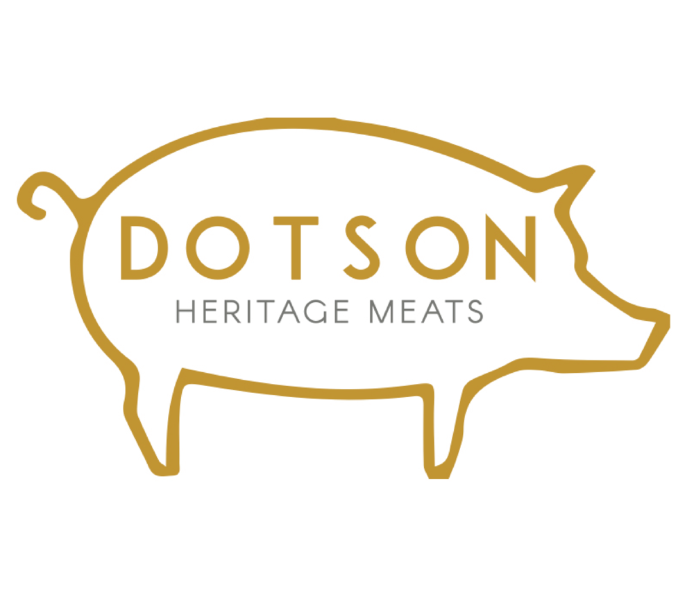 Dotson Heritage is a third generation butcher shop wanting to grow into a new era. The wanted something modern that paid homage to the old butcher traditions.