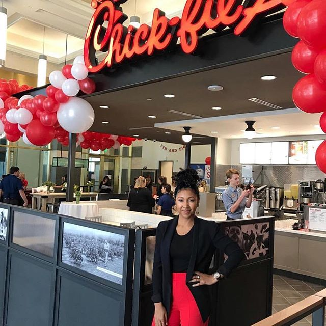 "#Repost @becauseofthem with @get_repost ・・・ Congratulations to Ashley Lamothe, Chick-fil-A's youngest African American woman franchise owner, on the grand opening of her second location in Los Angeles today! ⠀⠀⠀⠀⠀⠀⠀⠀⠀⠀⠀⠀ A native of Marietta, GA, Lamothe's relationship with Chick-fil-A began at the age of 15 when she served as a team member. What originally started as a way for her to make some extra money turned into a significant opportunity for her to create a long-term career path for herself. Once she became a student at nearby Spelman College in Atlanta, she continued to work part-time at Chick-fil-A and eventually became a director on the leadership team. After a pivotal suggestion from one of her supervisors, she changed her major from theatre to economics and set out to one day own and manage her own restaurant. In 2011 at the age of 26, Lamothe became Chick-fil-A's youngest Black woman franchise owner. ⠀⠀⠀⠀⠀⠀⠀⠀⠀⠀⠀⠀⠀⠀⠀⠀⠀⠀⠀⠀⠀⠀⠀⠀ After graduating from Spelman and then completing Chick-Fil-A's management and development programs, Lamothe became the owner of her first restaurant located near the University of Southern California in Los Angeles. Today, she will open her second restaurant at the corner of Figueroa and 7th in downtown Los Angeles. ⠀⠀⠀⠀⠀⠀⠀⠀⠀⠀⠀⠀ ""I cannot wait to become a part of this growing neighborhood, and I look forward to welcoming our guests with hand-crafted food and hospitality,"" shared Lamothe in a press release. cc: @ashleythe0ne  #blackgirlmagic #becauseofthemwecan — #theblackburdell #smallbiz #smallbusiness #blackbiz #blackbusiness #marketing #founder #ceo #entrepreneur #startup"