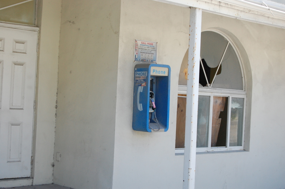Could it have been this pay phone??