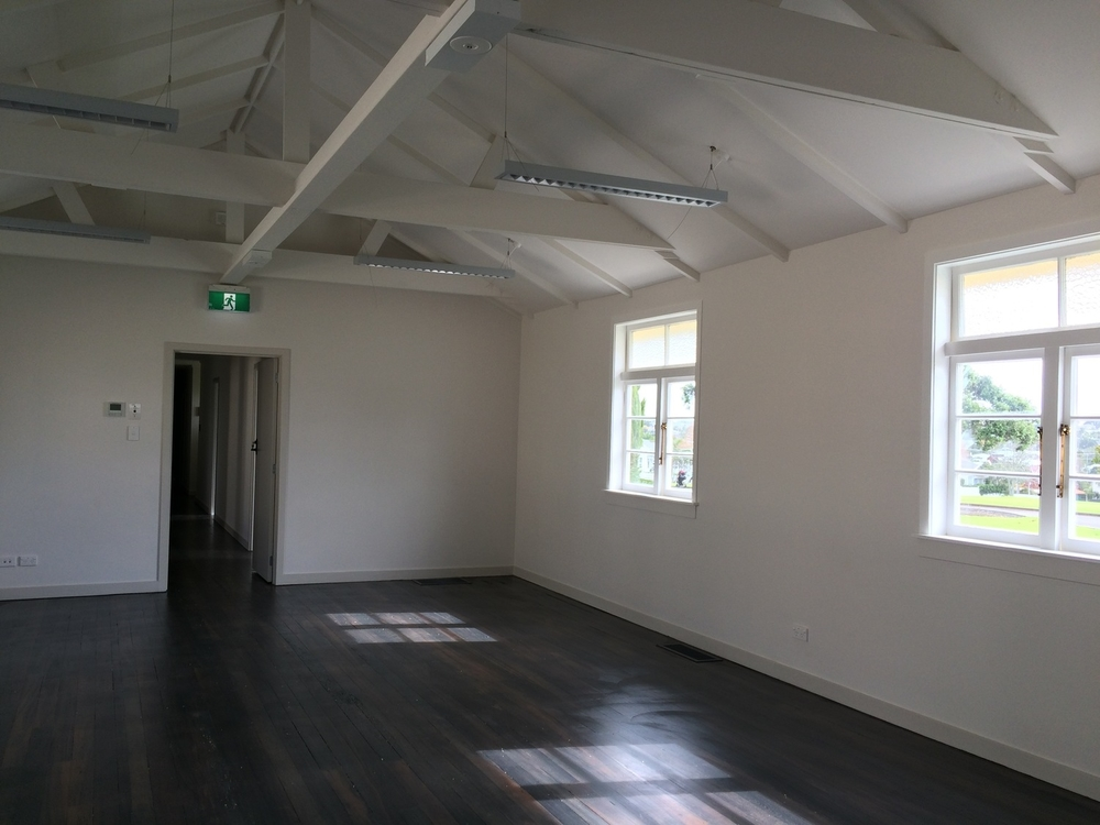 Fort Takapuna barracks interior