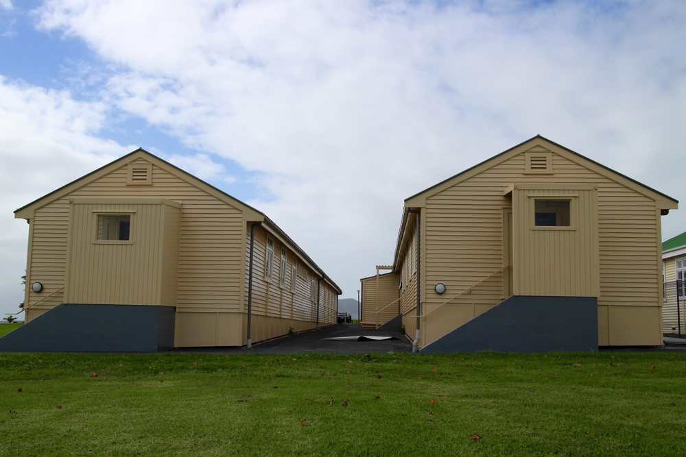 Fort Takapuna barracks exterior