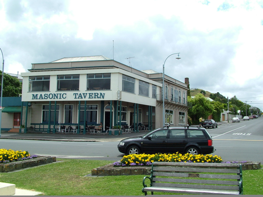 The Masonic tavern