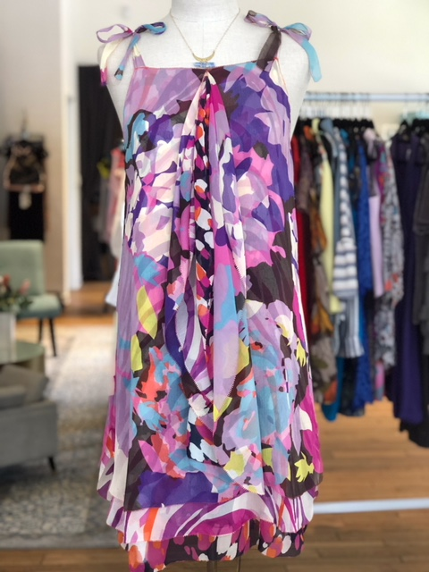 Actual DVF dress we got in our Lake Oswego location. Our price is $68.