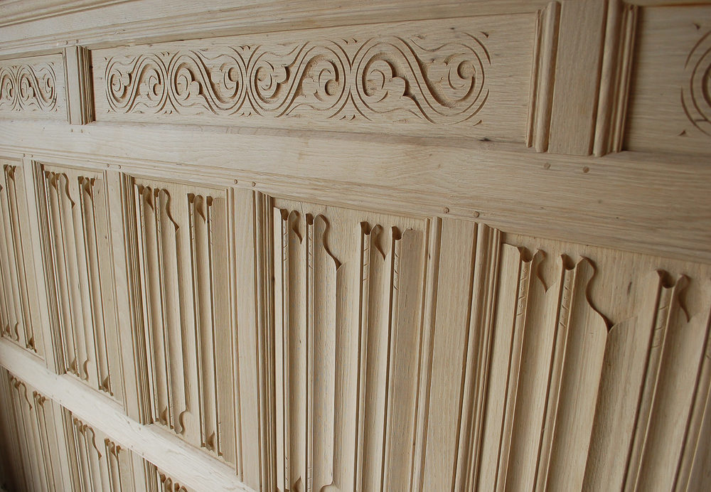 Oak Wall Paneling : Oak panelling panelled rooms hand carved