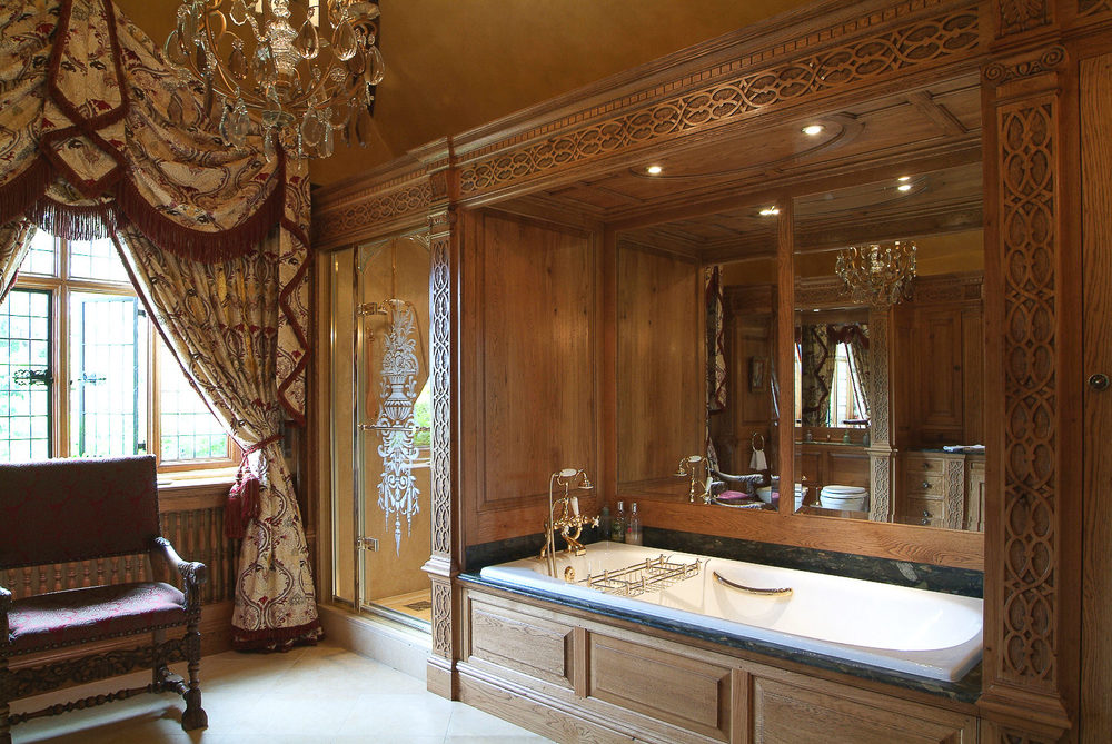 Tudor inspired bathroom