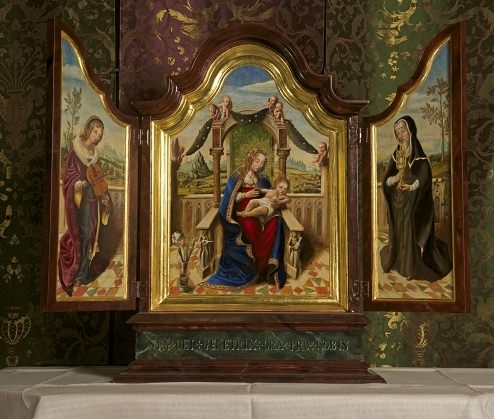 Painted Reredos