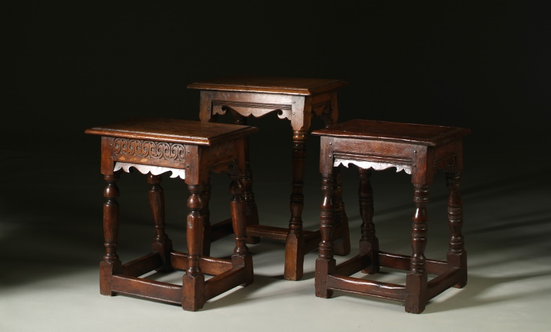 Joint stool 17th century style