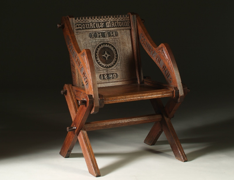 Oak furniture period style chair