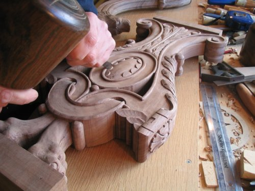 Hand carved period furniure and architectutral joinery of the 16th century, 17th century and 18th century