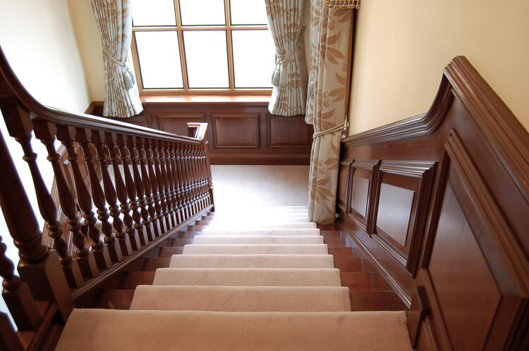 ... 18th Century Style Panelling And Staircase ...