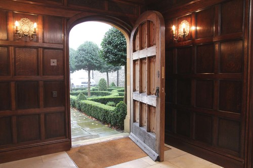 Tudor Oak Doors And Gothic 16th 17th Century Carved Styles
