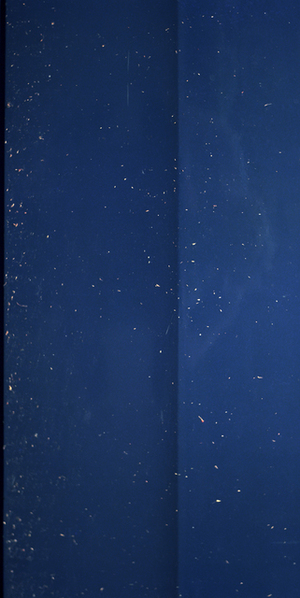 JAN DIBBETS, Dark Blue, 1976/2012, From the series New Color Studies, Colour photograph laminated to dibond, 99 9/10 × 50 7/10 in, 253.7 × 128.7 cm. Edition of 2, ALAN CRISTEA GALLERY, London: +44 20 7439 1866