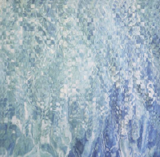 Jock McDonald Water, photo weave via Jock McDonald