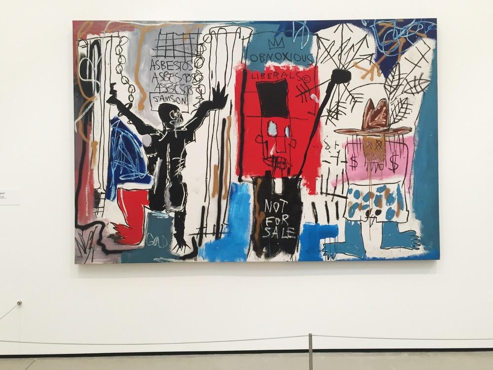 Jean-Michel Basquiat, Obnoxious Liberals, 1982