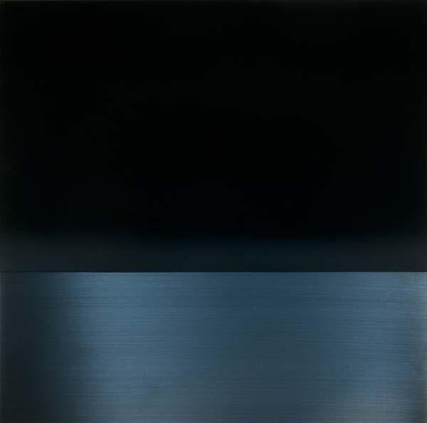 Miya Ando Urushi Light Blue, 2014 Sundaram Tagore Gallery