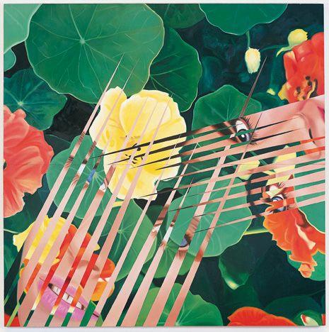 James Rosenquist, Nasturtium Salad, 1984 via The Guggenheim.