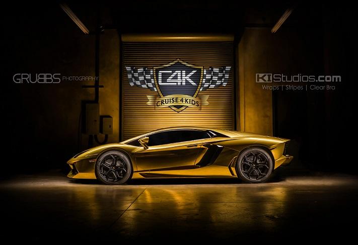 Download Cruise 4 Kids Gold Wrapped Lamborghini Huracan ...