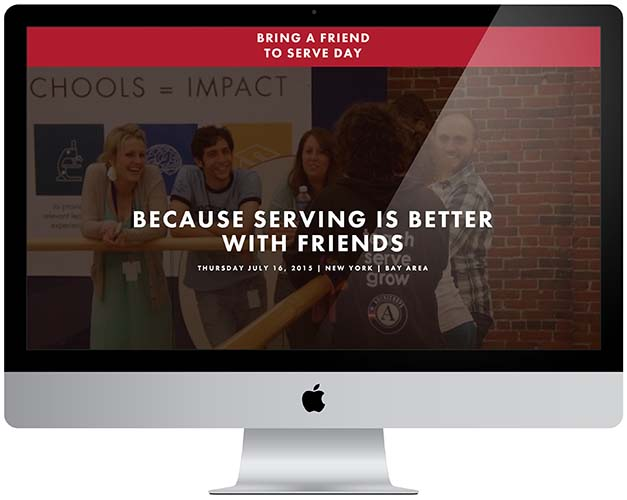 citizen schools refer a friend to serve website