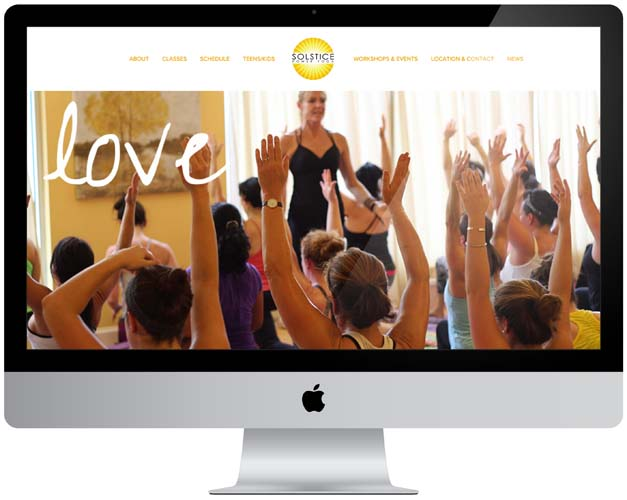 solstice power yoga website