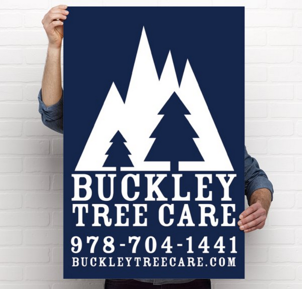 buckley tree care poster