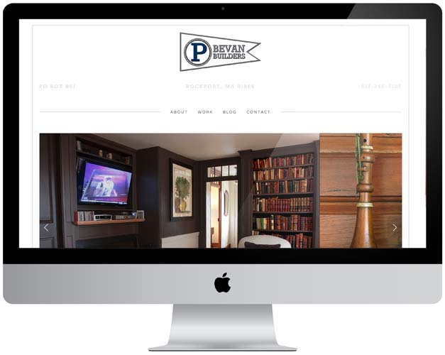 p bevan builders website