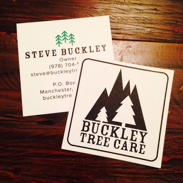 buckley tree care business cards