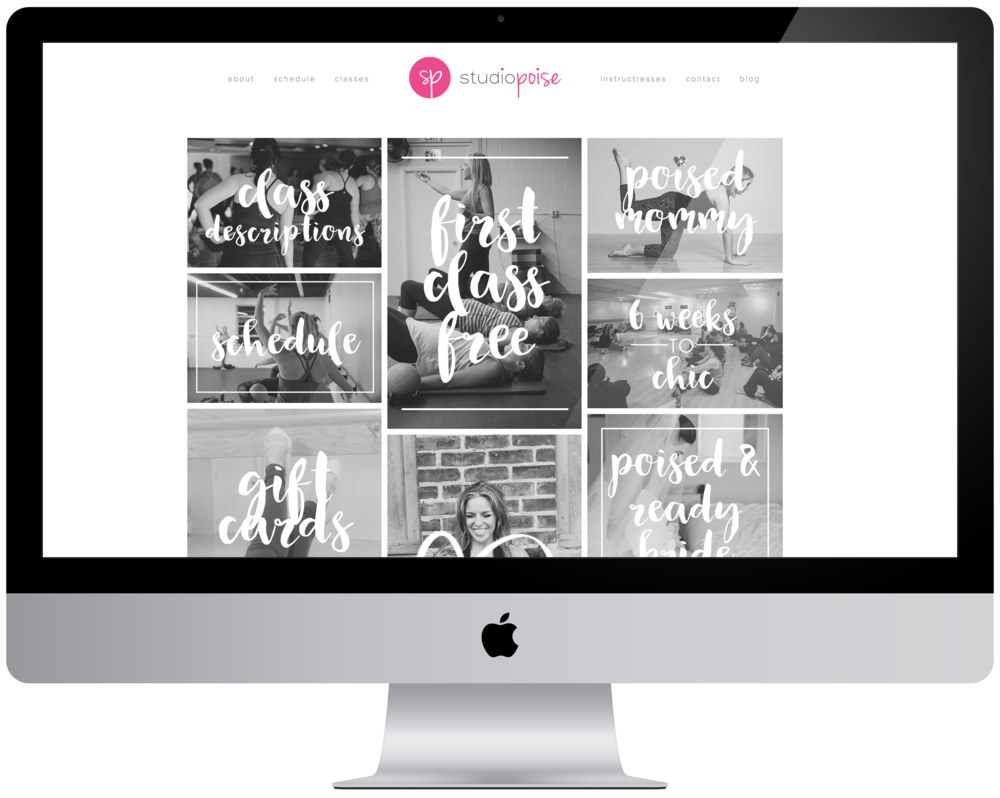 Studio Poise Website