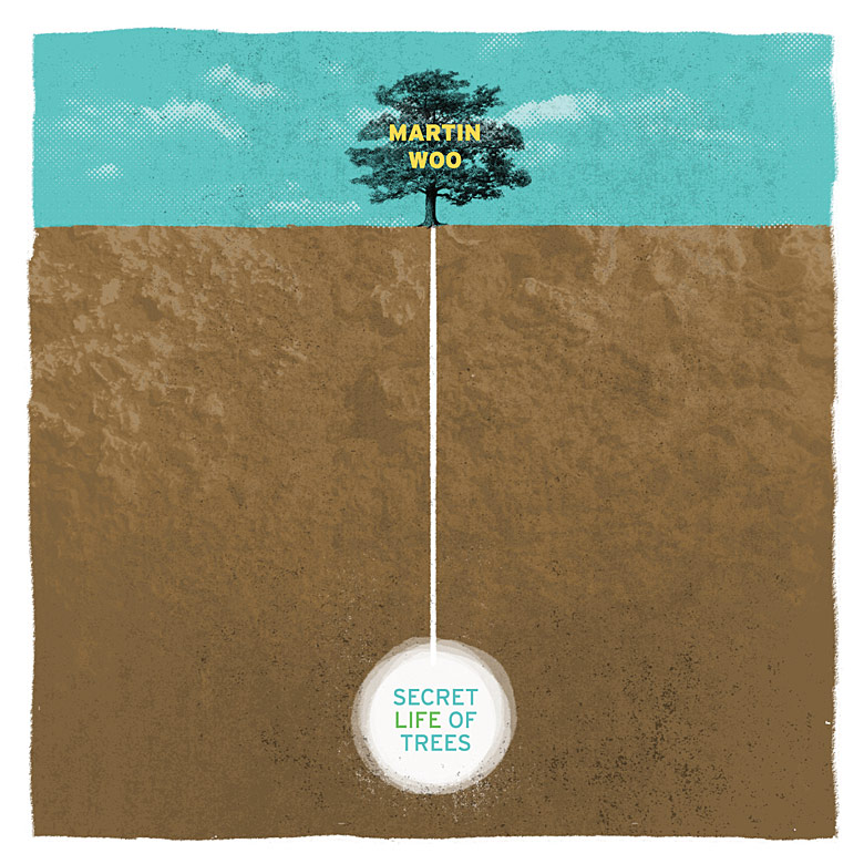 "CLIENT: Martin Woo ""Secret Life Of Trees"" CD layout.   See more of this project"