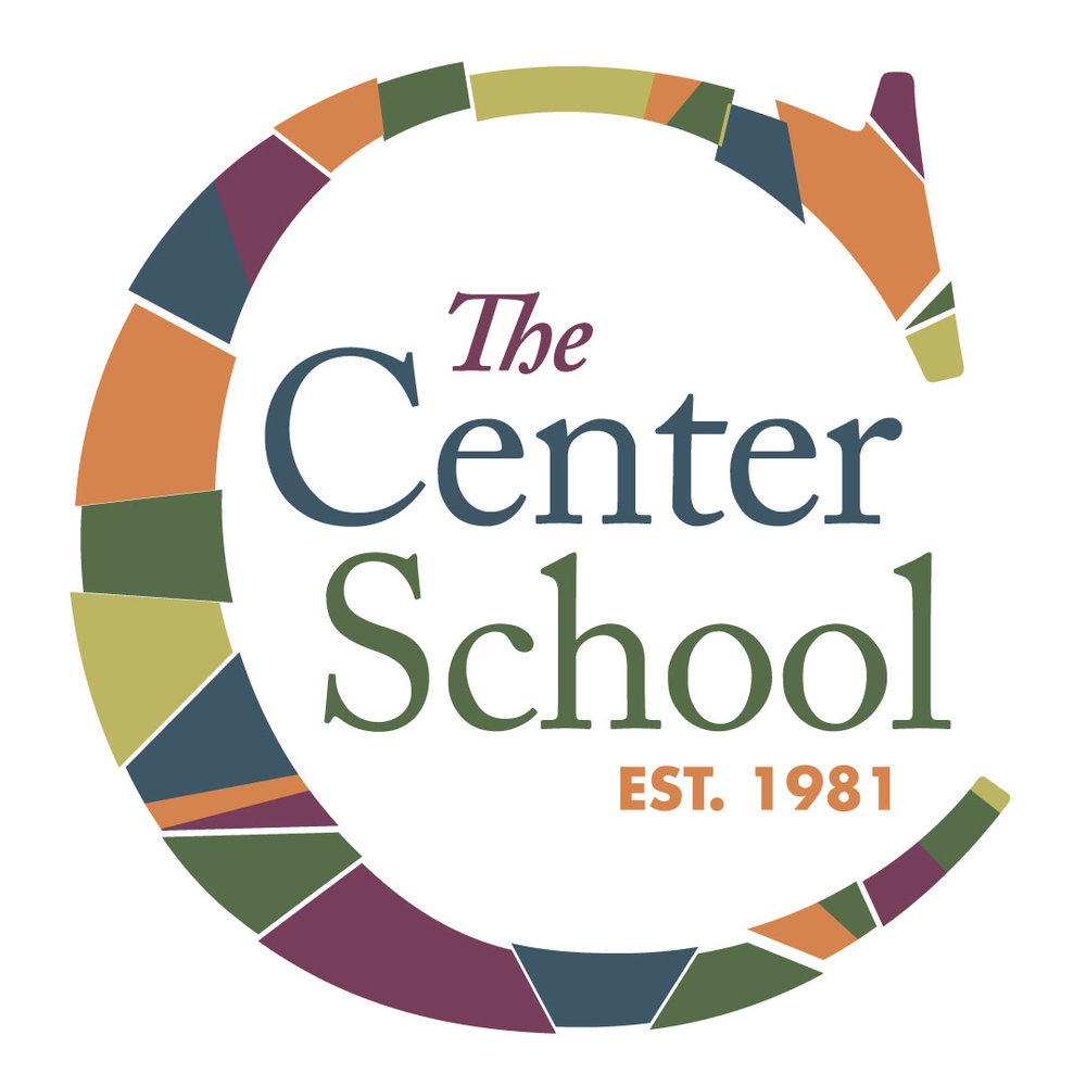 The Center School logo design