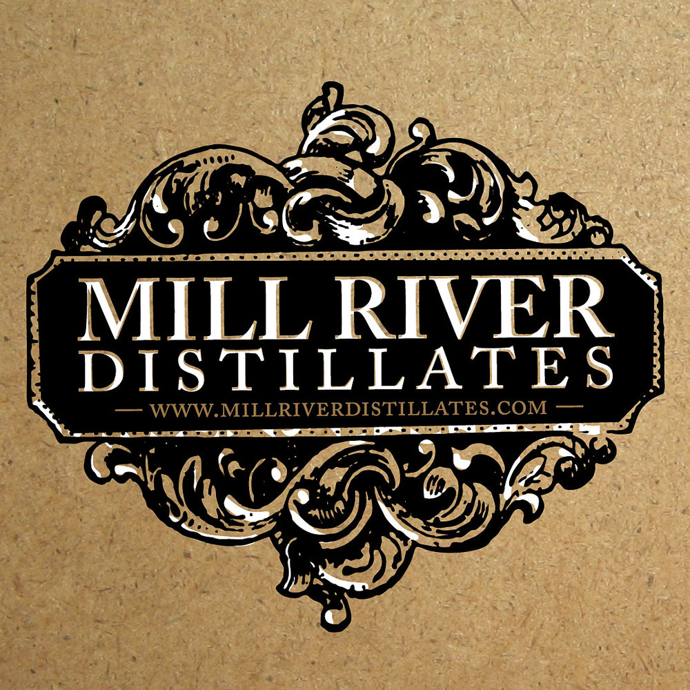 Mill River Distillates - logo design