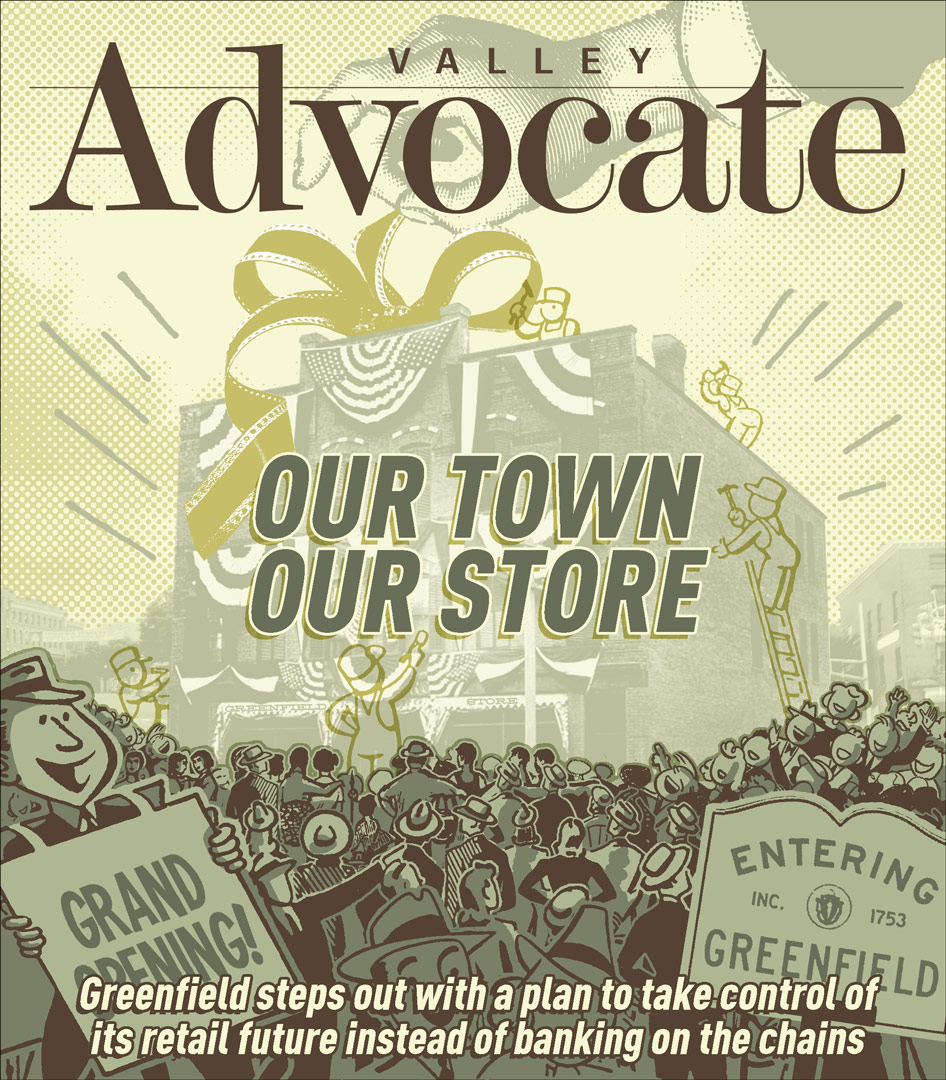 Valley Advocate - cover illustration