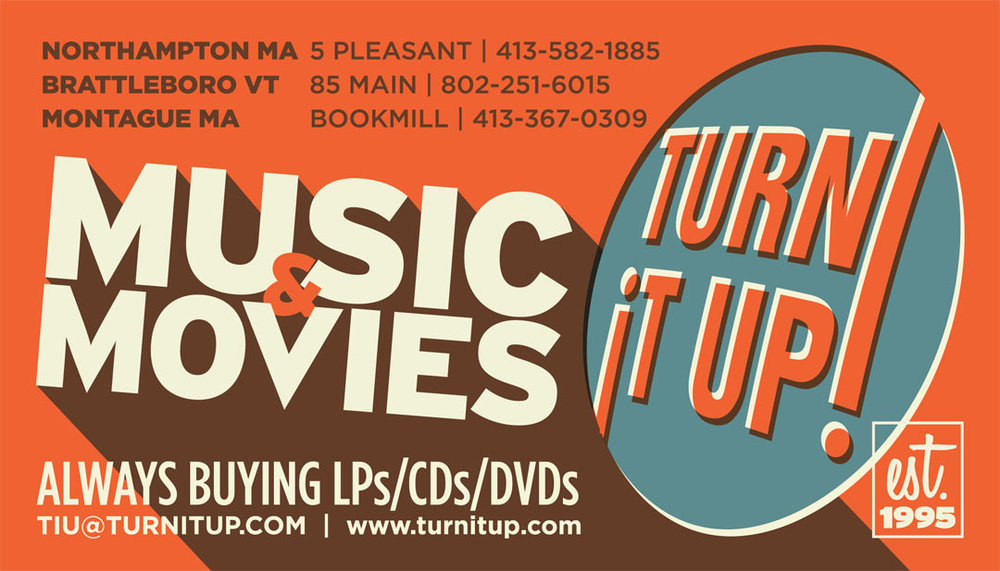 Turn It Up! business card