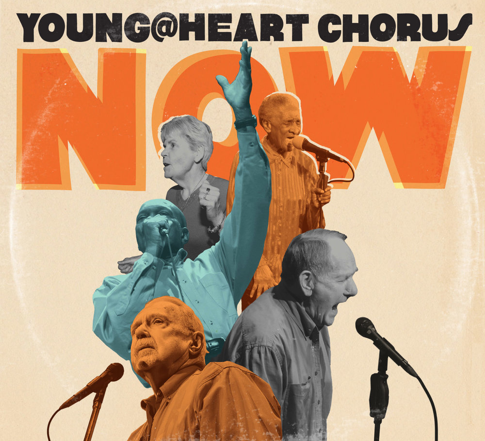 Young @ Heart Chorus CD layout