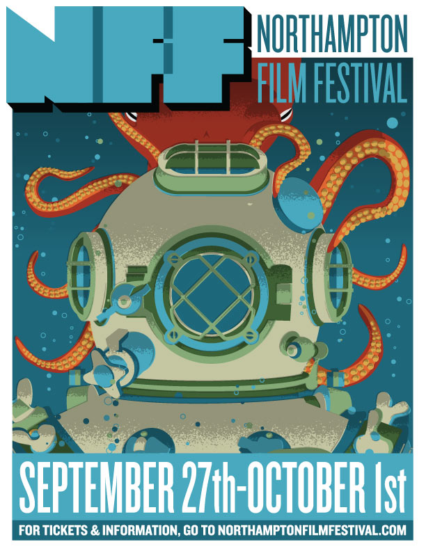 Northampton Film Festival - poster design for Northampton Community Television