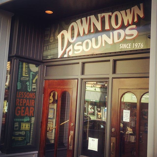 Downtown Sounds signage