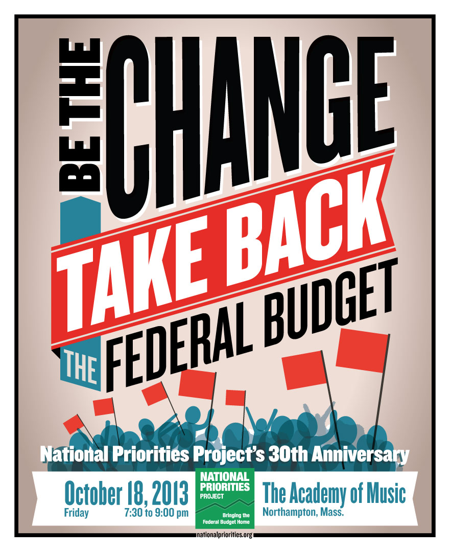 CLIENT: National Priorities Project full page newspaper ad