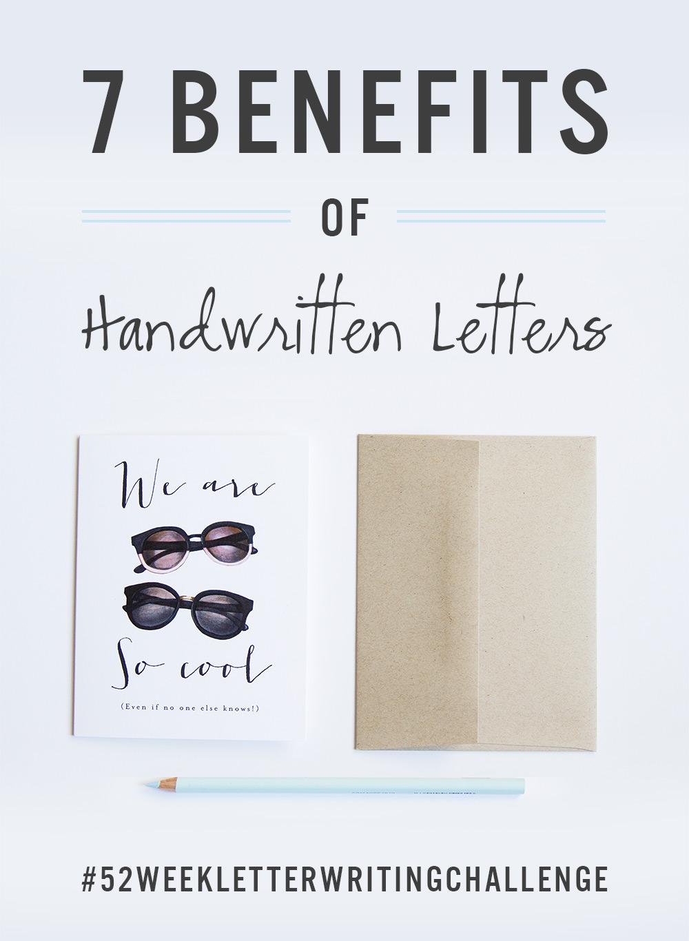 benefits of handwritten notes