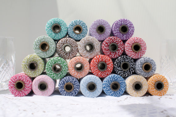 spools of bakers twine