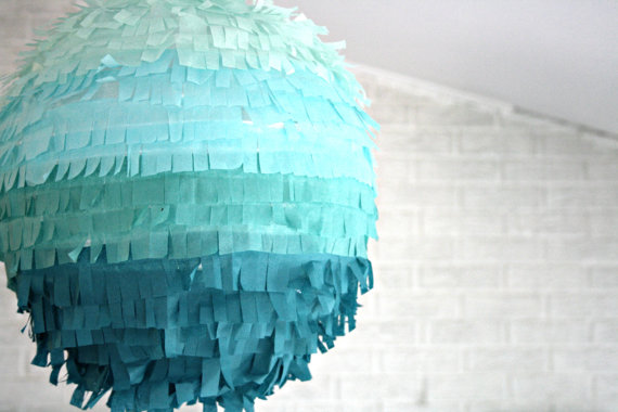ombre party pinata