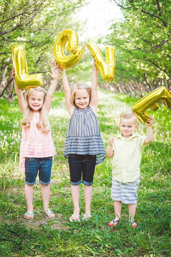 Love letter balloons