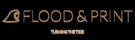 Flood & Print Logo