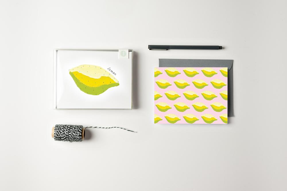 Lemon Card Set