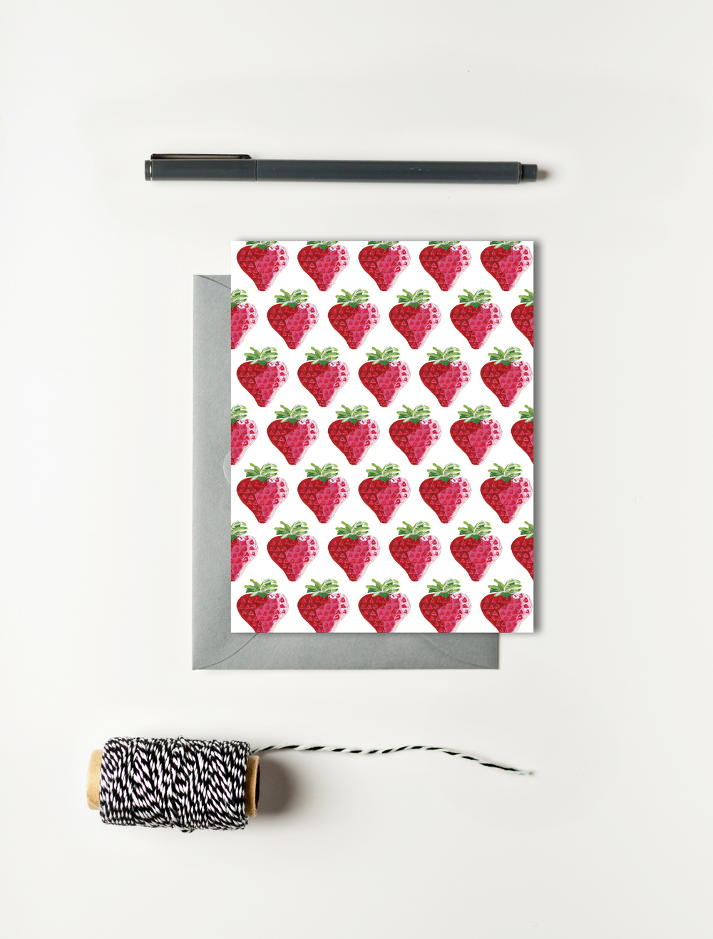 Strawberry Card Set