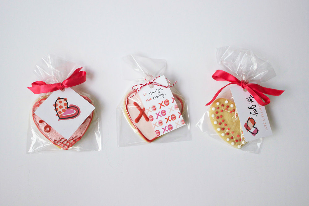 Valentine Cookie Bags