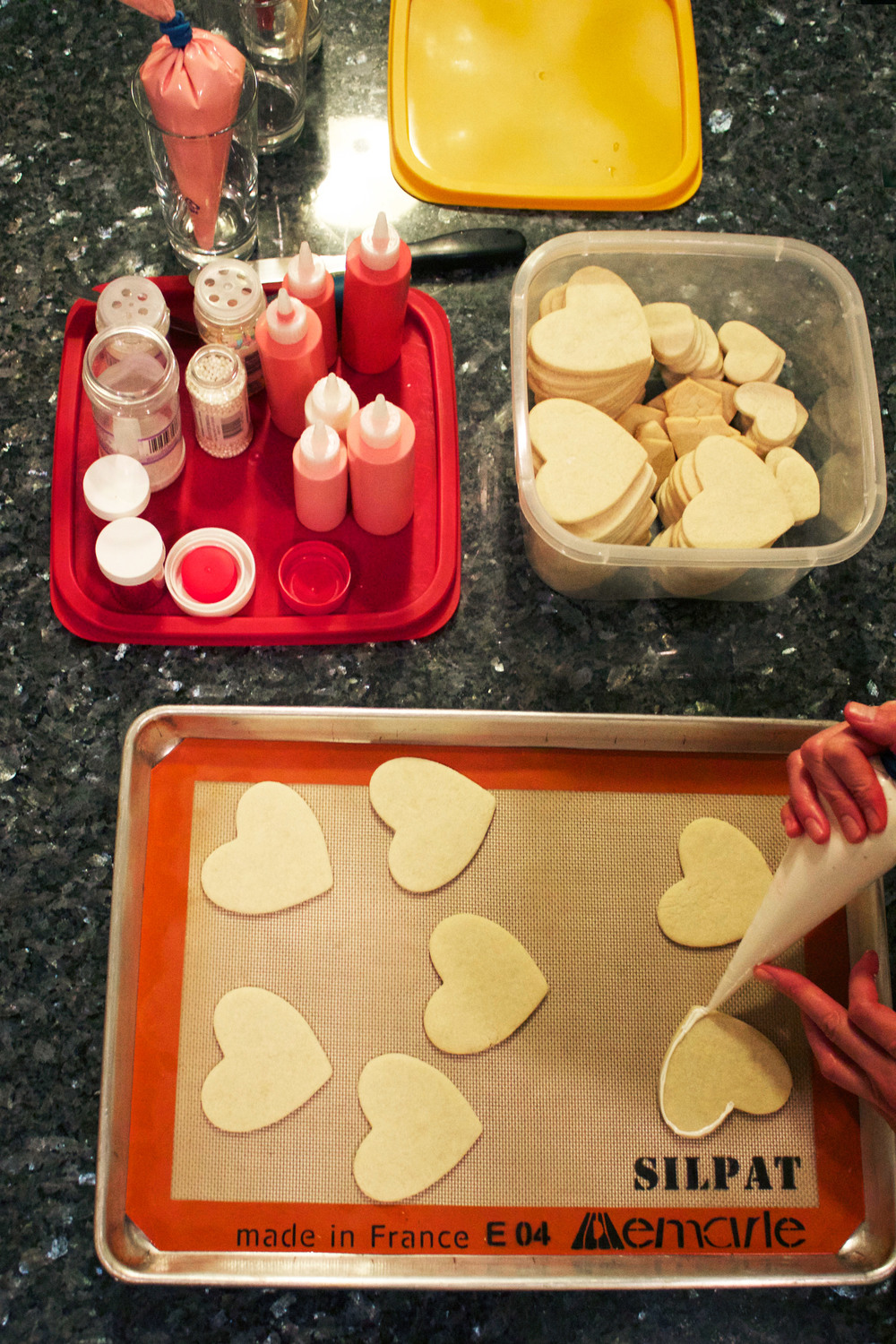 Valentine Cookie Decorating party